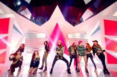 <p>Кадр из клипа Girls' Generation «I Got A Boy»</p>