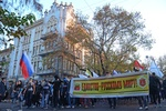"""Одесситы устроили """"Русский марш"""" и потребовали освободить Маркова"""