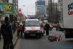 Как выглядит место в Киеве, где сбили молодую мотоциклистку
