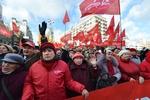 Коммунисты мирно заняли Европейскую площадь в Киеве
