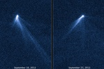 "Телескоп ""Хаббл "" обнаружил шестихвостую комету"