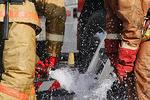 На Тернопольщине горел жилой 5-этажный дом