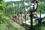 В Одессе поймали молодого расхитителя кладбищенских оград
