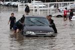 Из-за сильных ливней Багдад уходит под воду