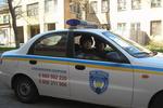 Пьяный одессит протаранил машину милиции