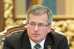 """Коморовский считает, что Украина может """"потом"""" выполнить часть условий ЕС"""