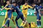 Эксклюзивные кадры матча Украина - Франция 2:0