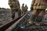 В Казахстане пылают цистерны с нефтью, погибли люди