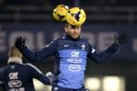 Сборная Франции начала подготовку к ответному матчу с Украиной
