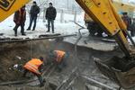 В Киеве из-за прорыва трубы перекрыли целую улицу