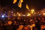 """Во Львове """"евромайдан"""" собрал тысячи людей"""