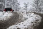 На США обрушился снежный шторм