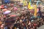 Как Западе Украины митинговали на Евромайданах