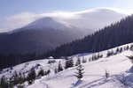 Карпаты замело снегом
