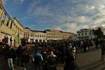 В Ужгороде на Евромайдан вышли сотни студентов