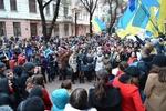 В Черновцах Евромайдан потребовал от губернатора извинений