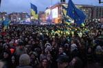 Тысячи студентов устроили на Майдане песни и пляски