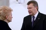 Янукович рассказал Меркель и Грибаускайте о сложностях и одиночестве