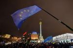 На Майдане раздают листовки с требованием остановить Януковича