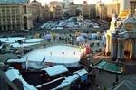 Киевские власти решили устроить каток на месте Евромайдана