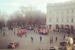 В Одессе горел знаменитый Дворец моряков