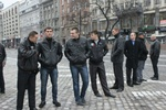 """Титушки"" в Мариинском парке забросали камнями журналистов ""5 канала"""