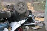 В Винницкой области на ходу опрокинулся многотонный грузовик, есть жертвы