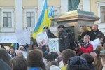 Одесситы устроили Евромайдан возле памятника Дюку