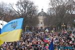 Всеобщая забастовка во Львовской области: всех зовут на Евромайдан