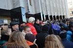 В Луцке митингуют 1,5 тысячи студентов