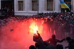 Активист Евромайдана плакал, когда его отправляли за решетку на 2 месяца