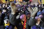 Митингующие заняли еще одно здание на Гончара