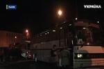 Ночью в Киев выехали две тысячи львовян