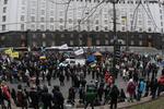 Оппозиция и демонстранты будут пикетировать Банковую каждый день с утра до вечера
