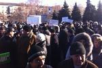 15-тысячный митинг в Донецке в поддержку Януковича разошелся