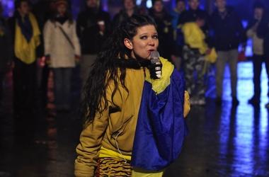 Руслана заради Євромайдану готова до самогубства