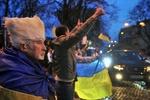 Майдан – день 16-й: окровавленный мужчина, лежачий протест под ГПУ и блокада Рады