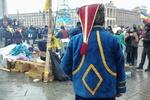 На Евромайдан активно стягиваются люди