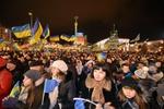 15 тыс. человек митингуют против действий власти на Майдане в Киеве