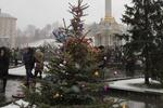 У Евромайдана появилась своя елка