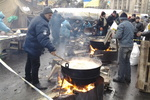 Как кормят на Евромайдане