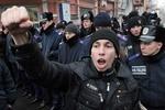70 участников акции против власти пикетировали Днепропетровский телеканал