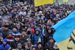 На Евромайдане в Ивано-Франковске молились за Украину