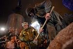 """В милиции пригрозили """"отлавливать по одному"""" виновных в сносе памятника Ленину"""