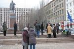 На донецком Евромайдане запретили подходить к памятнику Шевченко
