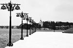 На Днепропетровск обрушился снегопад