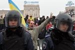 """Митингующие собираются штурмовать """"Беркут"""""""