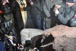 КПУ требует выяснить, кто организовал снос памятника Ленину.