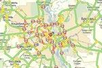 Вечерний Киев замер в многокилометровых пробках