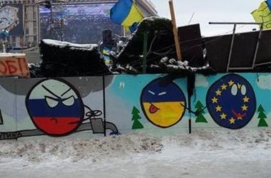 Граффити о украине евросоюзе и россии